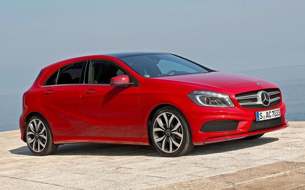 Bei bestimmten Fahrzeugen der B-, CLA- und A-Klasse (Bild) wurde eine falsche ESP-Software installiert. (Foto: Mercedes Benz)