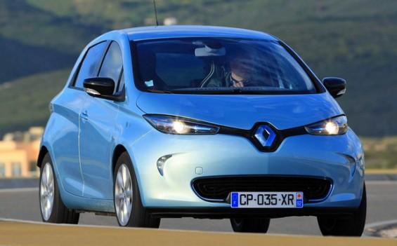 Der Renault Zoe leidet an einem möglichen Verschleiß durch Scheuern des Bremsschlauches. 2.159 Wagen müssen in Deutschland in die Werkstätten. (Foto: Renault)