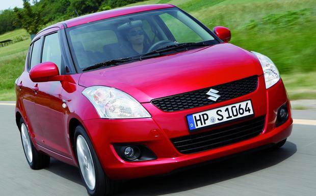 Wegen unzureichend gesicherter Halteschrauben für die Hinterachse ruft Suzuki die Modelle Swift (Bild), SX4 S-Cross und Vitara in die Werkstatt. (Foto: Suzuki)