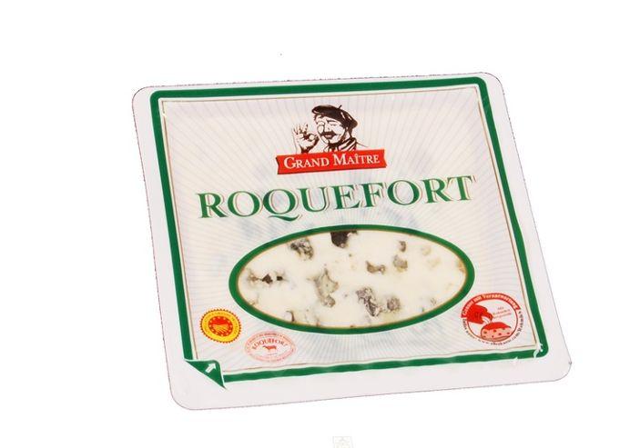 Kann von Coli-Bakterien befallen sein: Grand Maitre Roquefort Käse (Foto: Vernières Frères)