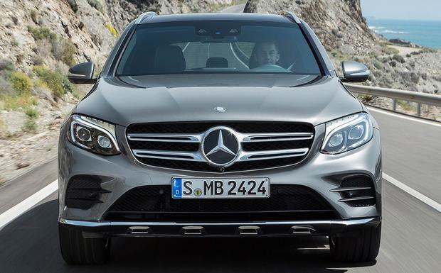 Beim Mercedes-Benz GLC kann ein Leitungssatz aufscheuern und unterschiedliche Systeme ausfallen lassen. (Foto: Mercedes-Benz)