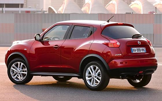 Nissan ruft weltweit mehr als drei Millionen Autos wegen Problemen mit den Airbags zurück. Im Bild: der Nissan Juke. (Foto: Nissan)