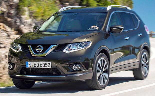 Beim Nissan X-Trail können unter Umständen korrosionsbedingt die Dämpfer der Heckklappe diese nicht mehr halten. (Foto: Nissan)