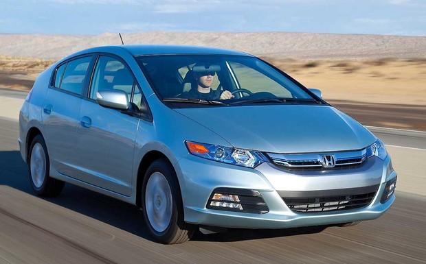 Auch der Honda Insight muss wegen fehlerhafter Takata-Airbags in die Werkstatt. (Foto: Honda)