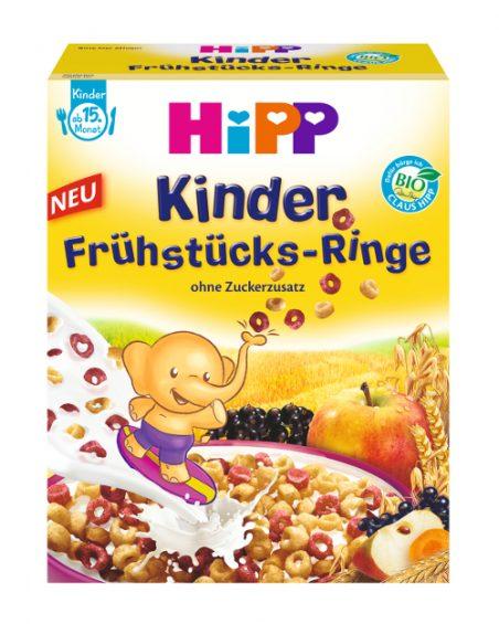 Kinder Frühstücks-Ringe von HIPP können Metalldraht enthalten.