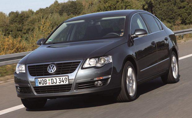 Der VW Passat Ecofuel der Baujahre 2006 bis 2010 muss zum Tausch der Gastanks in die Werkstatt. (Foto: Volkswagen)