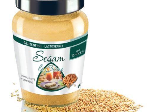 In einer Charge von Sesam La Creme vom Hersteller Schock wurden Salmonellen gefunden.