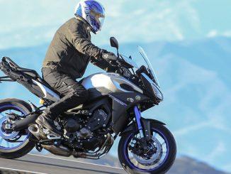Auch die MT-09 Tracer ist vom aktuellen Yamaha-Rückruf betroffen. (Foto: Yamaha)