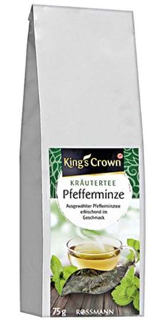 Kings Crown Kräutertee Pfefferminz (Foto: Rossmann)