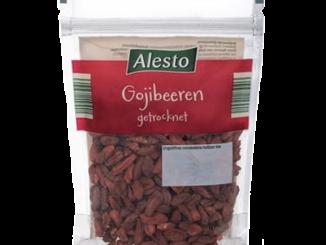 Die Alesto Gojibeeren müssen wegen gefundener Salmonellen zurückgerufen werden. (Foto: Lidl)