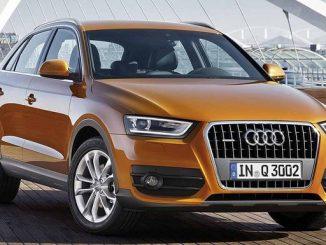 Beim Audi Q3 könnten beim Auslösen der Notbremsfunktion die Bremslichter über den EPB-Schalter nicht aufleuchten. (Foto: Audi)