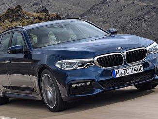 Bei den BMW-Modellen 5er (Bild) und 7er könnte das Bremslicht dauerhaft leuchten. (Foto: BMW)