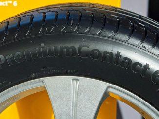 Continental tauscht seinen Reifen ContiPremiumContact 6 aus. (Foto: Continental)