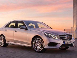 Bei einigen Fahrzeugen der Mercedes-Benz E-Klasse können die Fond-Gurtstraffer beim Crash nicht funktionieren. (Foto: Daimler)