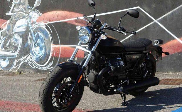 Auch die Moto Guzzi V9 Bobber hat ein Problem mit der vorderen Bremsleitung. (Foto: Moto Guzzi)