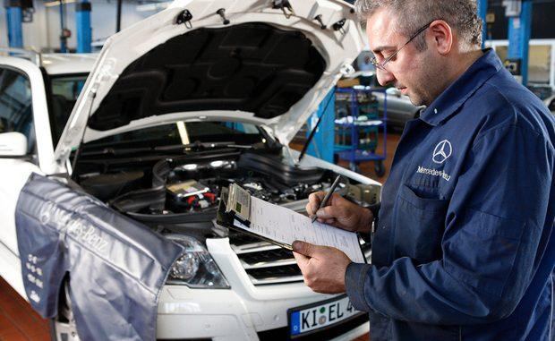 Die Mercedes-Werkstätten dürften sich in den nächsten Monaten nicht über mangelnde Auslastung beschweren. (Foto: ADAC)