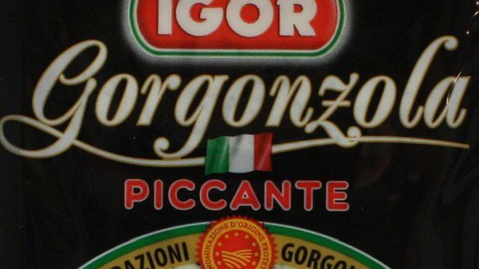 IGOR Gorgonzola Piccante (Packungsfoto vom Hersteller)