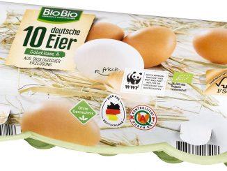 Gefahr durch mögliche Verunreinigung mit Salmonellen: Die Eifrisch Vermarktung erweitert ihren Rückruf auf Eier, die unter der Marke BioBio bei Netto Marken-Discount verkauft wurden.