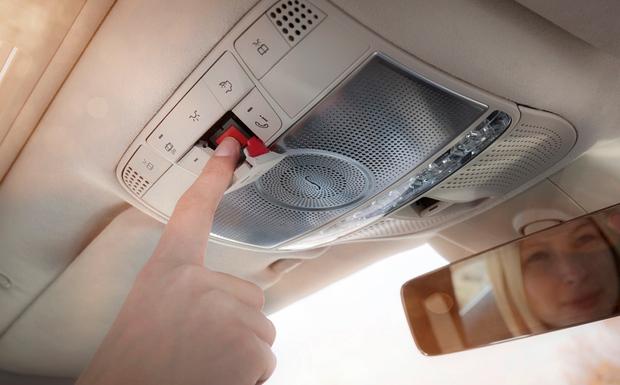 Mercedes startet wegen Fehlern beim Notrufsystem eCall zwei Rückrufe für A- und E-Klasse. (© Foto: Daimler)