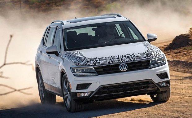 Kurzschlussgefahr bei den aktuellen VW-Modellgenerationen Tiguan (Bild) und Touran. (© Foto: Volkswagen AG)