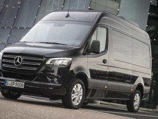 Bei manchen Mercedes-Benz Sprinter können einige Assistenz- und Sicherheitssysteme nicht verfügbar sein. (© Foto: Daimler)