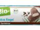 Können Edelstahlborsten enthalten: dmBio Kokos Riegel Zartbitter (Foto: Hersteller)
