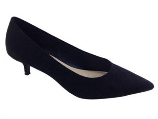 Primark Damenschuh Wide Fit Kitten Heel Court Shoe